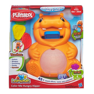 Playskool Learnimals Color Me Hungry Hippo