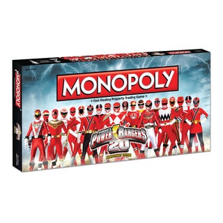 Monopoly Power Rangers 20th Anniversary Edition
