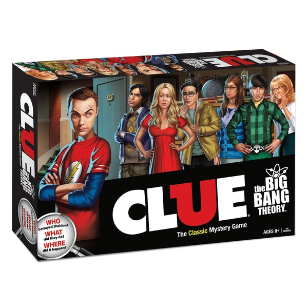 Clue The Big Bang Theory Edition