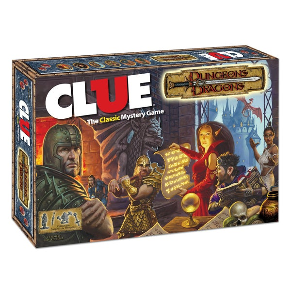Clue Dungeons and Dragons Edition