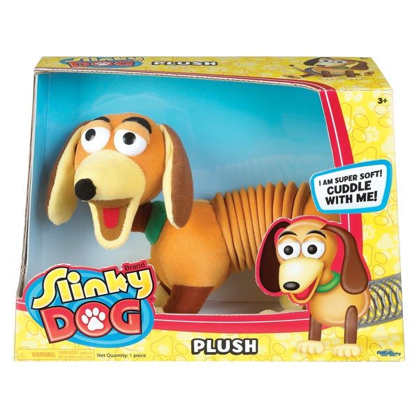Plush Preschool Slinky Dog