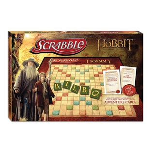 The Hobbit Edition Scrabble Board Game
