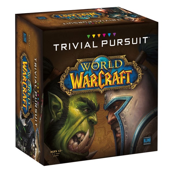 World of Warcraft Quick Play Edition Trivial Pursuit