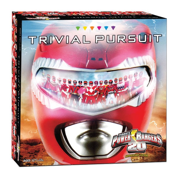 Power Rangers 20th Anniversary Edition Trivial Pursuit