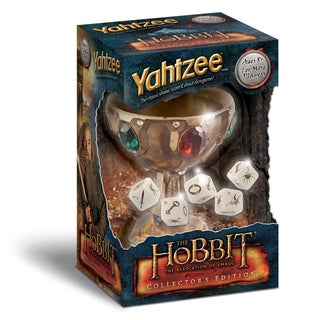 Yahtzee The Hobbit The Desolation of Smaug Collector's Edition