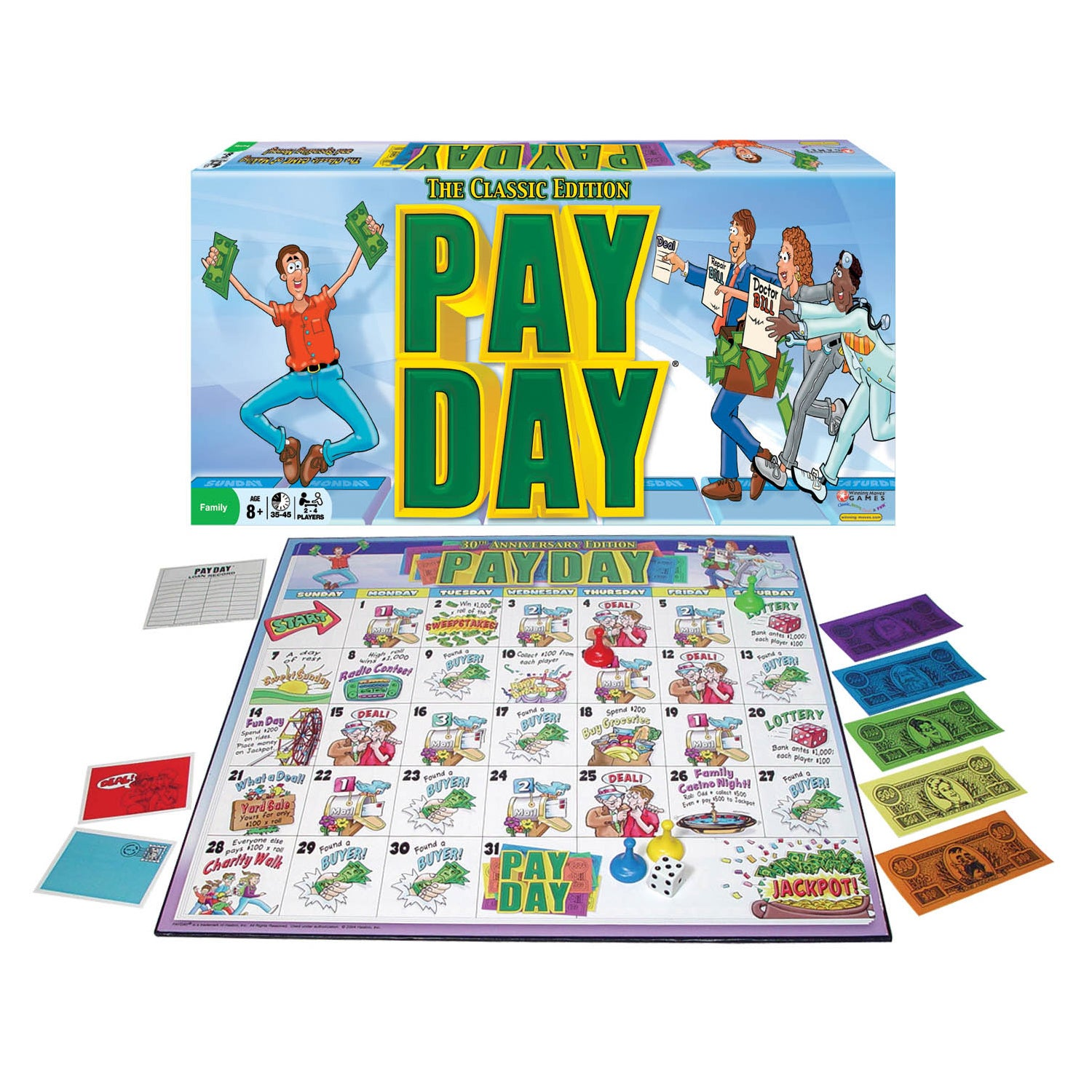Winning Moves Games Pay Day Board Game at Sears.com