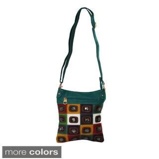Jewel Studded Crossbody Bag