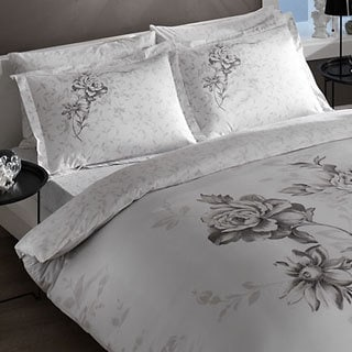 Brielle Bamboo Twill Rosa 3-piece Down Alternative Comforter Set