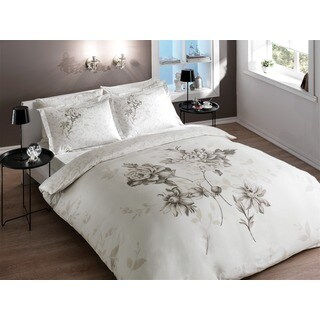 Brielle Bamboo Twill Rosa 3-piece Duvet Cover Set with Giftable Box
