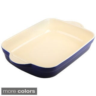 Denby Oven to Table Large Oblong 3.3-quart / 3.1-liter Casserole / Lasagna Dish
