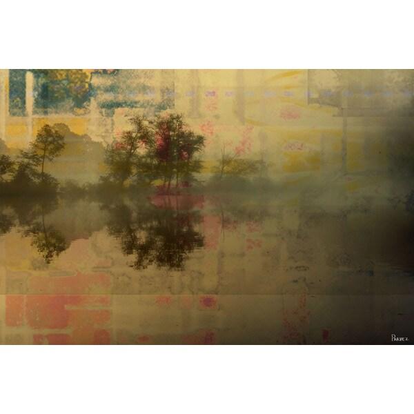 Parvez Taj 'Port Sever' Canvas Art Print