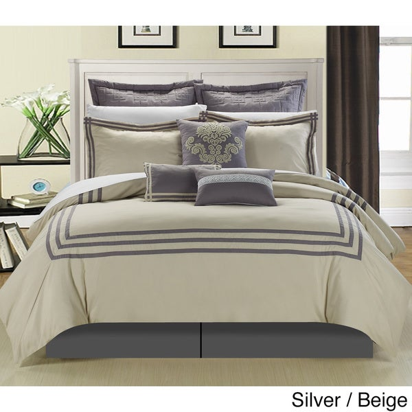 cosmo hotel collection 8 piece comforter set overstock