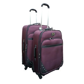 Kenneth Cole Curve Appeal II 2-piece Spinner Luggage Set