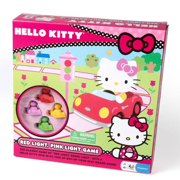 Hello Kitty Red Light, Pink Light Game