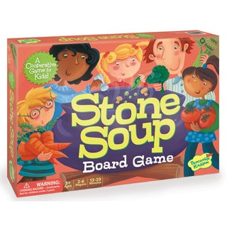 Peaceable Kingdom Stone Soup Cooperative Board Game
