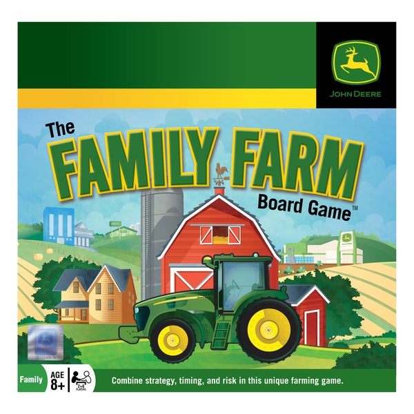 Masterpieces Puzzles John Deere Family Farm Board Game
