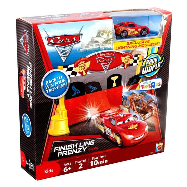 Mattel Cars 2 Finish Line Frenzy Game
