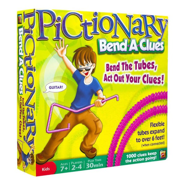 Mattel Pictionary Bend-A-Clues Game