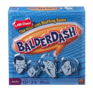 Mattel Balderdash The Hilarious Bluffing Game