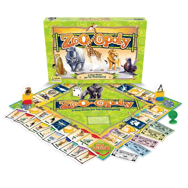 Late For The Sky Zoo-opoly Board Game
