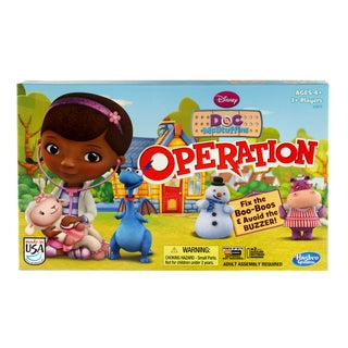 Hasbro Disney's Doc McStuffins Operation Game