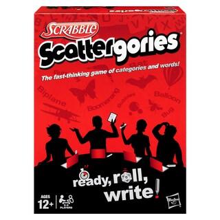 Hasbro Scrabble Scattergories Game