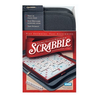 Scrabble Game Travel Folio Edition