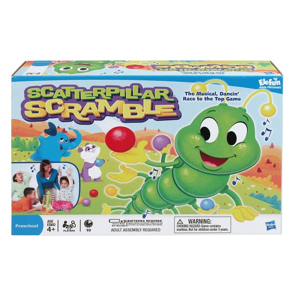 Hasbro Scatterpillar Scramble Game