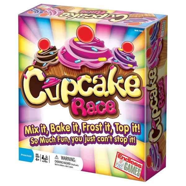 The Cupcake Race Board Game