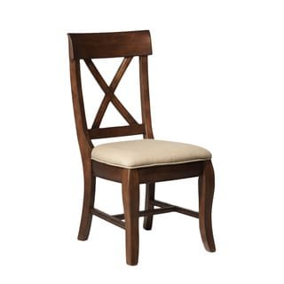 Intercon Verona Solid Birch Rustic Side Chair (Set of 2)