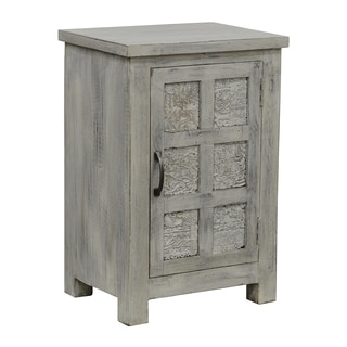 Geneva Vintage Inspired Wood Nightstand