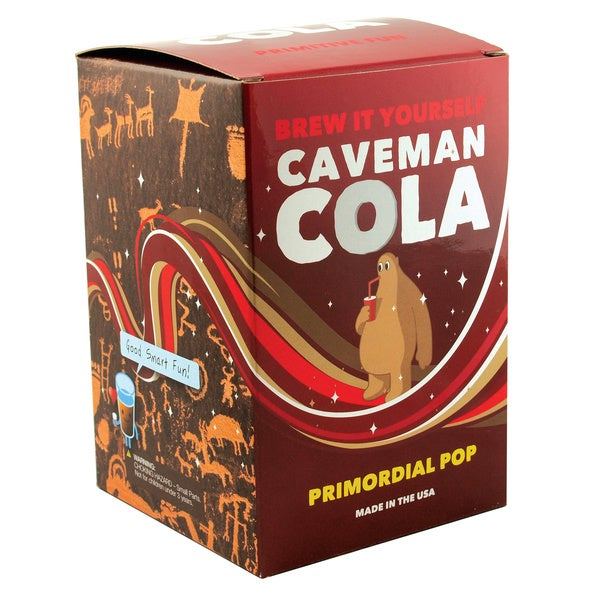 Brew It Yourself: Caveman Cola Kit