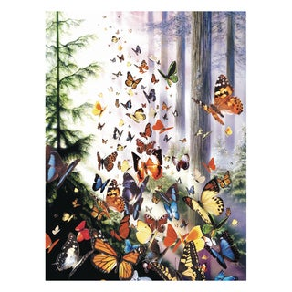Butterfly Woods 1000-piece Jigsaw Puzzle
