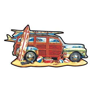 Surfin' Woody Shaped 1000-piece Puzzle