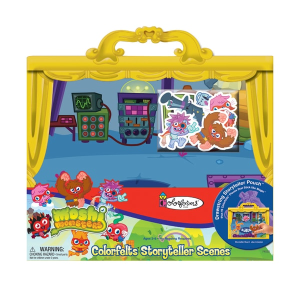 Moshi Monsters Colorfelts Storyteller Scenes