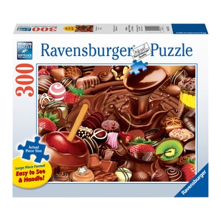 Large 300-piece Chocolate Overload Jigsaw Puzzle