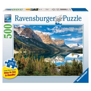 Large 500-piece Beautiful Vista Jigsaw Puzzle