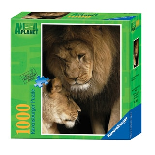 Animal Planet: Lions 1000-piece Jigsaw Puzzle