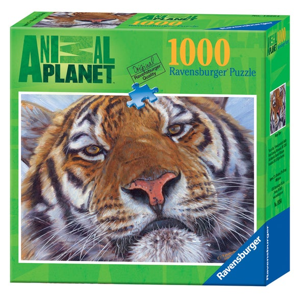 Animal Planet: Bengal Tiger 1000-piece Jigsaw Puzzle