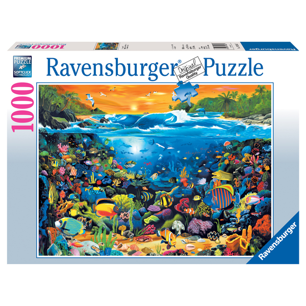 Underwater Fun 1000-piece Jigsaw Puzzle