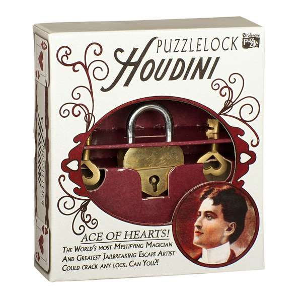 Professor Puzzle Houdini Ace of Hearts Puzzle