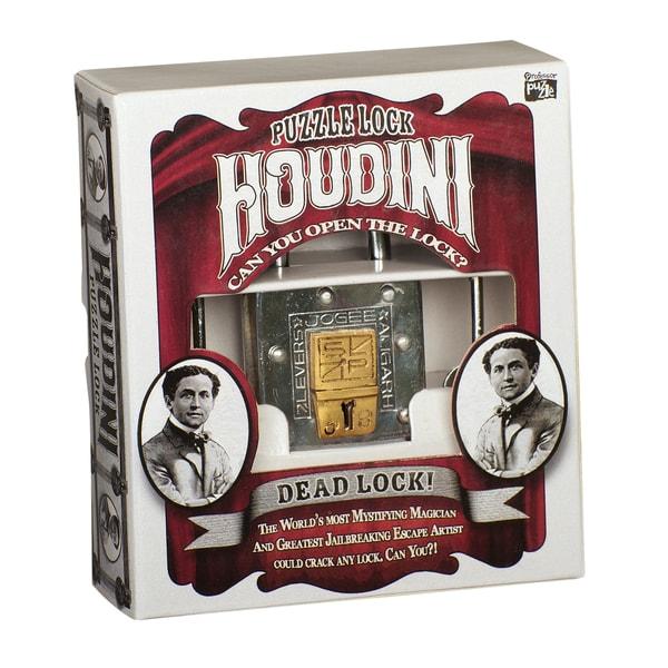 Professor Puzzle Houdini Dead Lock Puzzle