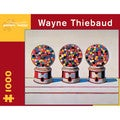 Wayne Thiebaud Three Gumball Machines Puzzle: 1000 Pcs