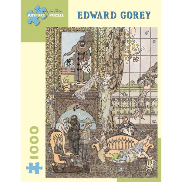 Edward Gorey Frawgge Manufacturing Co Puzzle: 1000 Pcs