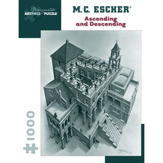 MC Escher 'Ascending and Descending' 1000-piece Puzzle