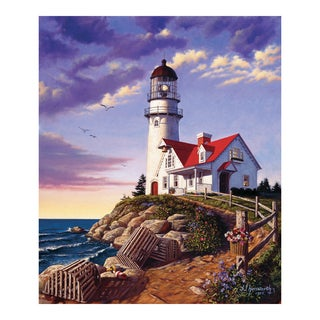 'Lighthouse Hill' 1000-piece Puzzle