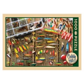 Fishing Lures Jigsaw Puzzle: 1000 Pcs