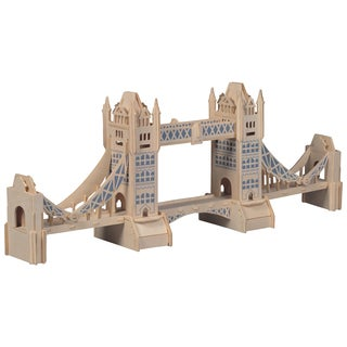 London Tower Bridge Wooden Puzzle