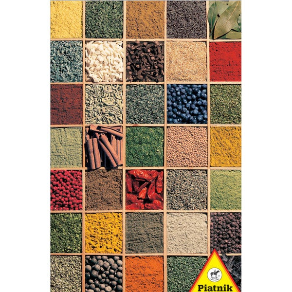 Spices Jigsaw Puzzle: 1000 Pcs