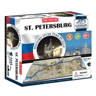 4D Cityscape Time Puzzle - St. Petersburg, Russia